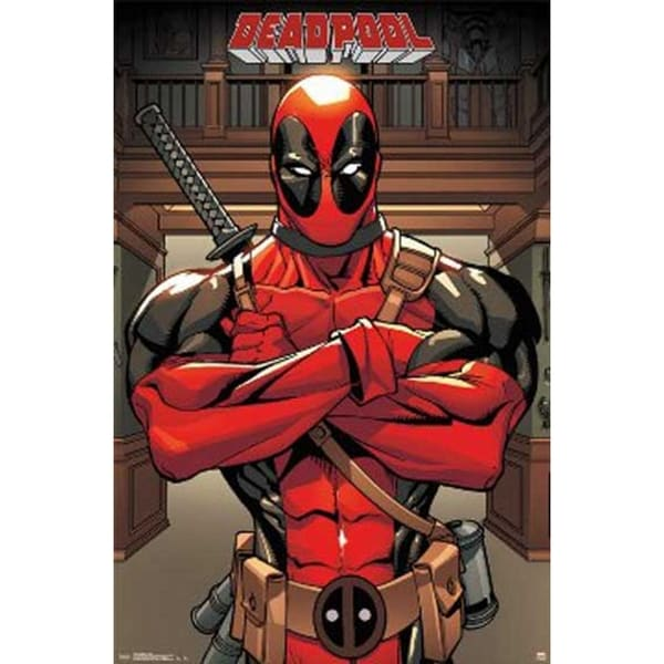 Marvel Deadpool Poster