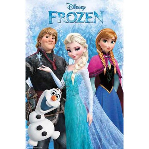 Frozen Anna and Elsa Poster