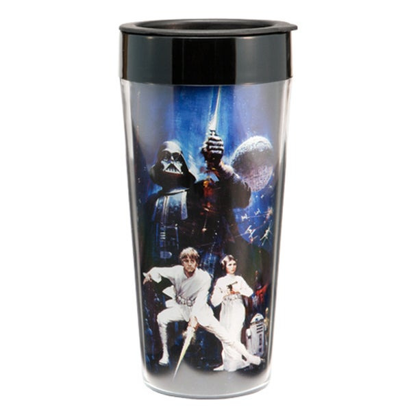 Star Wars 16-ouncePlastic Travel Coffee Mug