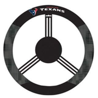 Houston Texans Logo Poly Mesh New Wheel Cover