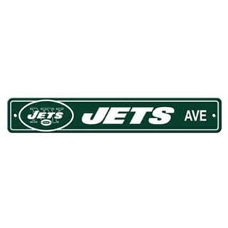 New York Jets Ave Street Sign