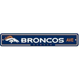 Denver Broncos Ave Street Sign