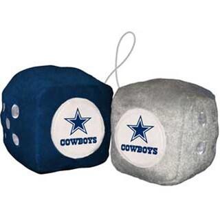 NFL Dallas Cowboys Logo Fuzzy Dice
