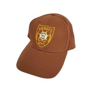 Brown Atlanta Georgia Sheriff Hat