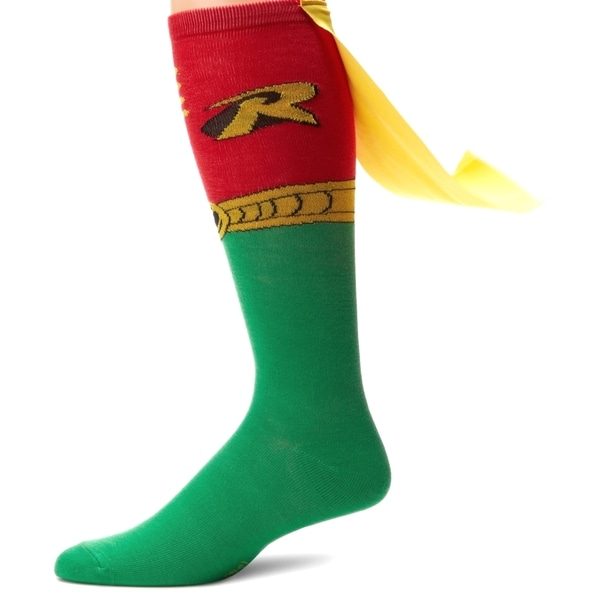 Knee High Caped Socks (Pair)