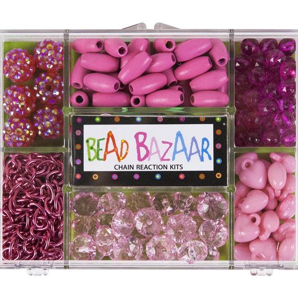 Pink Parade Chain Reaction Bead Kit