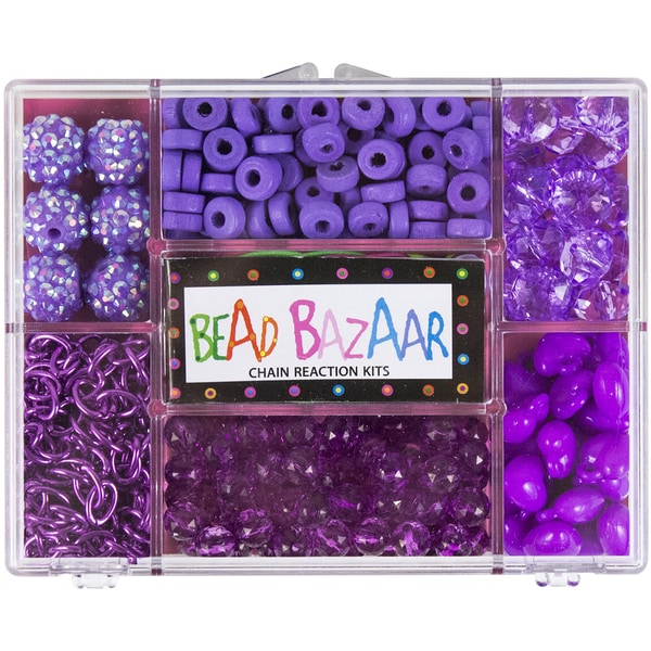 Purple Passion Chain Reaction Bead Kit