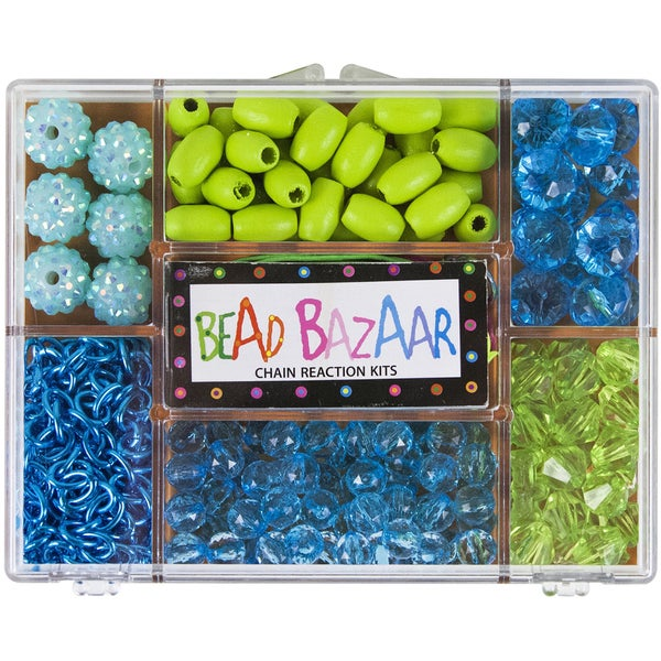 Turquoise Dream Chain Reaction Bead Kit