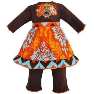 AnnLoren 2-piece Thanksgiving Turkey 18-inch Doll Outfit