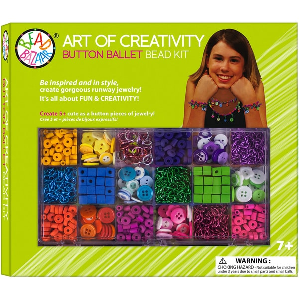 Button Ballet Art Of Creativity Button Kit