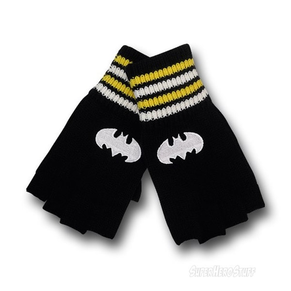 Batman Fingerless Gloves (pair)
