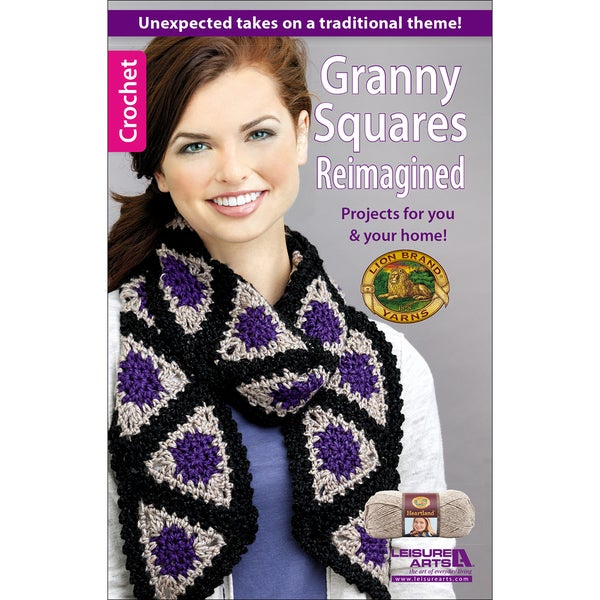 Leisure Arts Granny Squares Reimagined