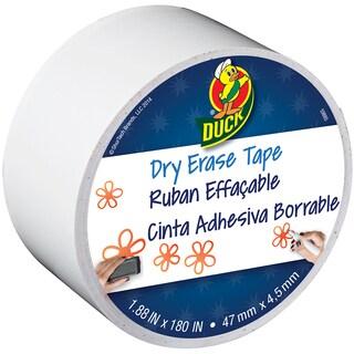 Dry Erase Duck Tape 1.88inX15yd White