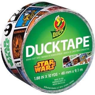 Licensed Duck Tape 1.88inX10yd Star Wars