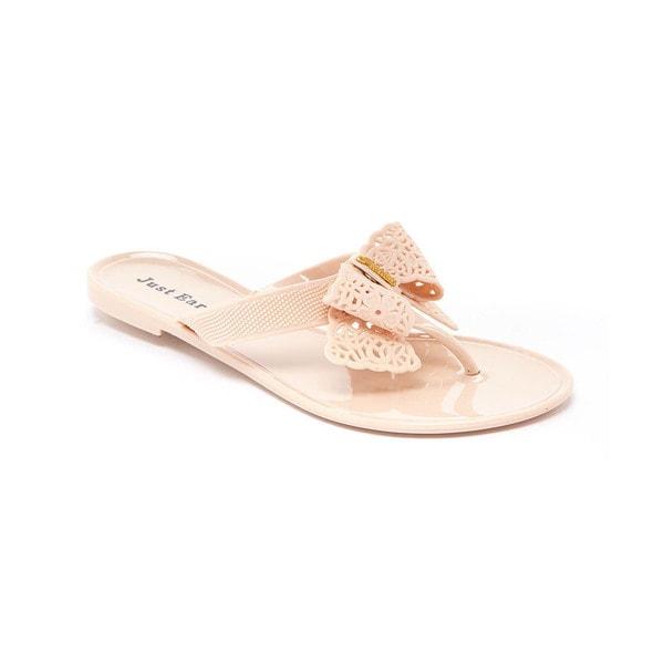 Women's Bow Jelly Sandal