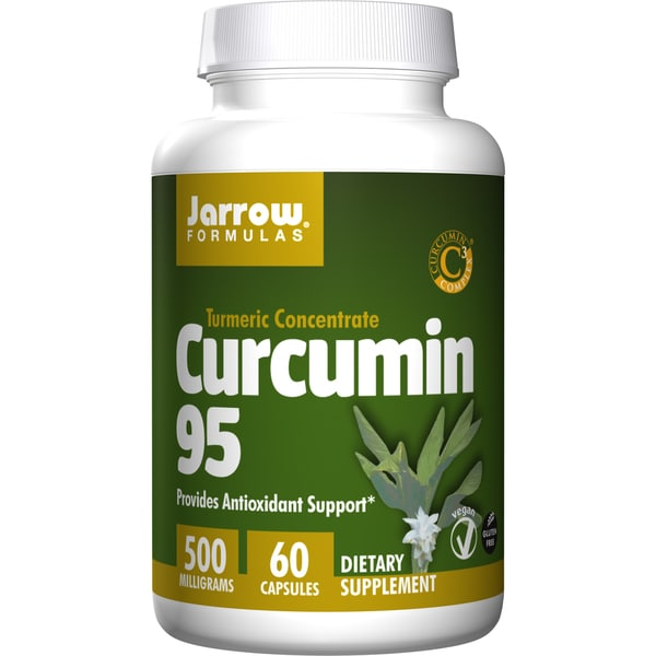 Jarrow Formulas Curcumin Phytosome 500 mg (60 Capsules)