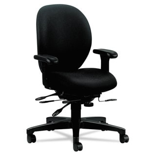 HON Unanimous Series Black High-Performance Mid-Back Task Chair