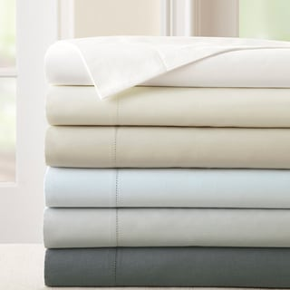 400 Thread Count 100-percent Cotton 4-piece Sheet Set with Single Hemstitch