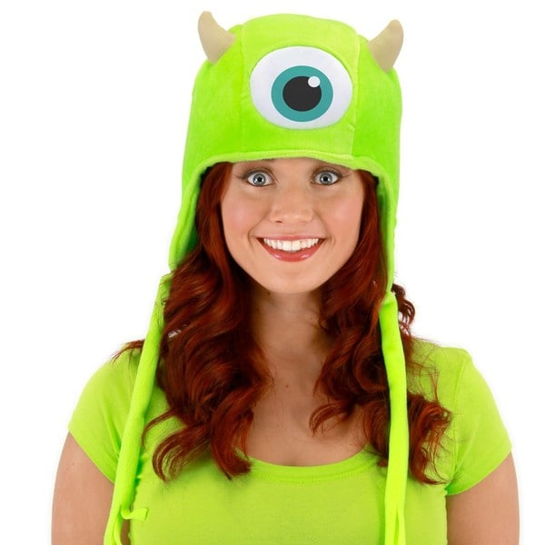 Mike Wazowski Monsters University Lapland Hat Pixar Laplander Inc.