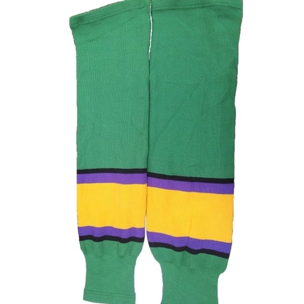 Mighty Ducks Green Ice Hockey Socks