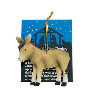 'Legend of The Donkey' Christmas Ornaments