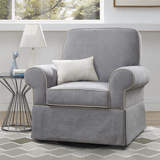 Baby Relax Taline Grey Cement Swivel Glider