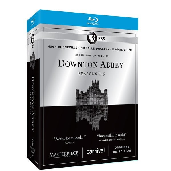 Masterpiece Classic: Downton Abbey: Seasons 1-5 (Blu-ray Disc) 15685381