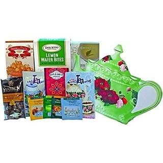 Tea Time Treasures Snacks and Treats Gift Basket