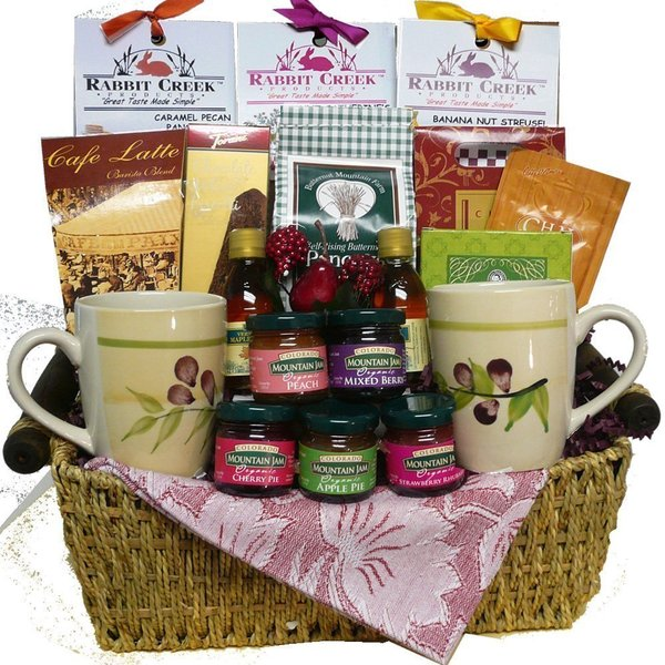 Art of Appreciation Gift Baskets Wake Up and Celebrate Gourmet Brea.