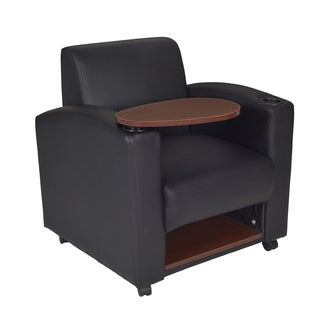 Nova Tablet Arm Chair- Black/Java