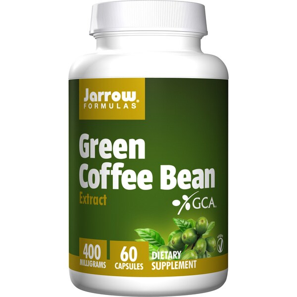 Jarrow Formulas Green Coffee Bean Extract 400 mg (60 Capsules)