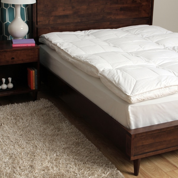 CozyClouds by DownLinens Luxury Down Top Feather Bed in Cal-King Size (As Is Item)