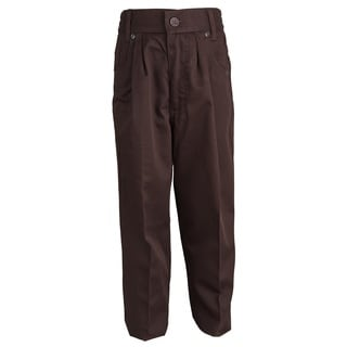 Concept Fit Boys' Pleated Front Elastic Waist Sports Pants