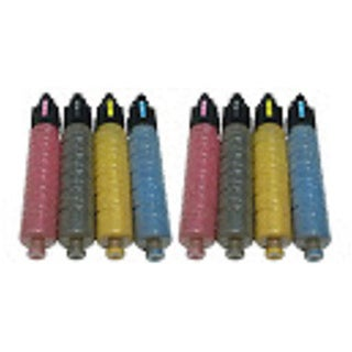 Replacing SPC400 820072 820075 820074 820073 SP C400 Toner Cartridge for Ricoh Aficio SP C400dn Series Printers