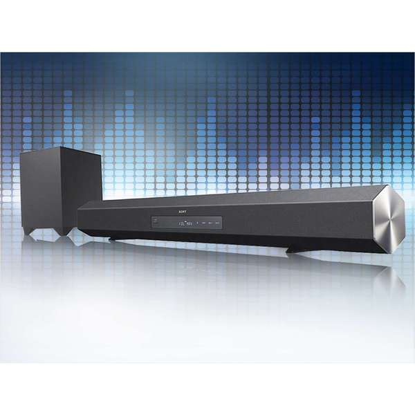 Sony HTCT260H Sound Bar Audio System with Bluetooth and Wireless Subwoofer (Refurbished)