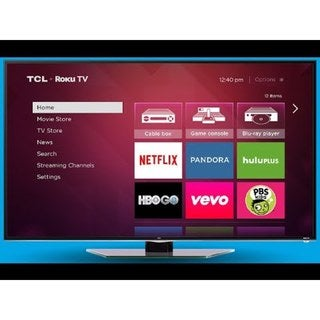 TCL 32S4610R 32-inch 720p 60Hz Roku Smart LED HDTV with Built-in WiFi and 3 HDMI Inputs (Refurbished)
