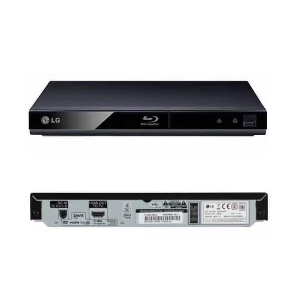 LG BP145 Blu-ray DVD Disc Player 1080p with Direct USB Playback (Refurbished)