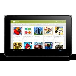 RCA RCT6077W2 Android 4.1 OS 1GHz Singe Core 4GB 7-inch Tablet PC with Google Play (Refurbished)