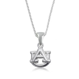 Auburn Sterling Silver Charm Necklace