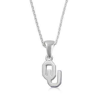 Oklahoma Sterling Silver Charm Necklace