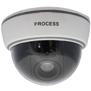 Dummy Dome Security Camera with Light