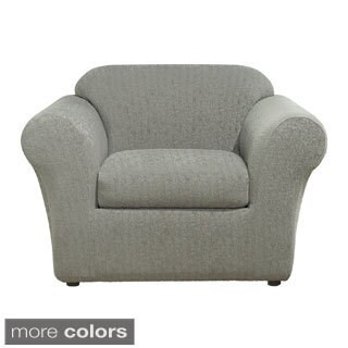Sure Fit Stretch Ava Separate Seat Chair Slipcover