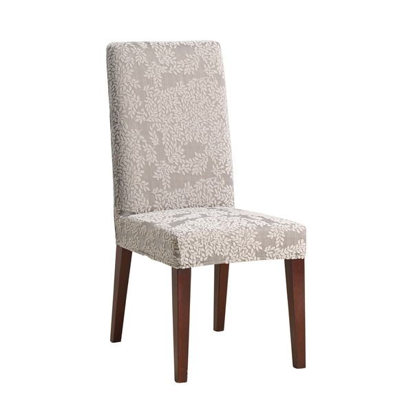 sure fit stretch forest dining room chair slipcover 17409923
