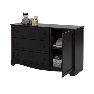 South Shore Savannah 3-Drawer Dresser with Door
