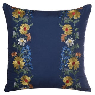 Teen Vogue Folksy Floral 16-inch Decorative Pillow