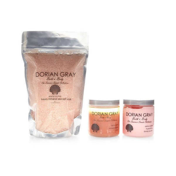 Dorian Gray Summer Scents 3-piece Gift Set Aloha Orchid