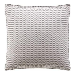 City Scene Leaves Mink Reversible Decorative Pillow