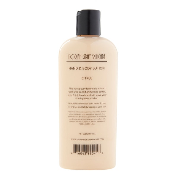 Soothing Citrus Mineral Hand and Body Lotion