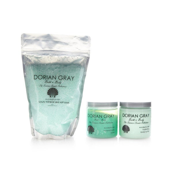 Dorian Gray Summer Scents 3-piece Gift Set Eucalyptus Rain