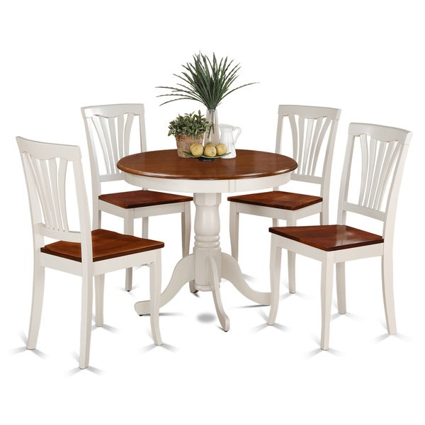 5 piece small kitchen table and 4 dining chairs